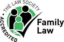The Law Society Accredited Family Law badge